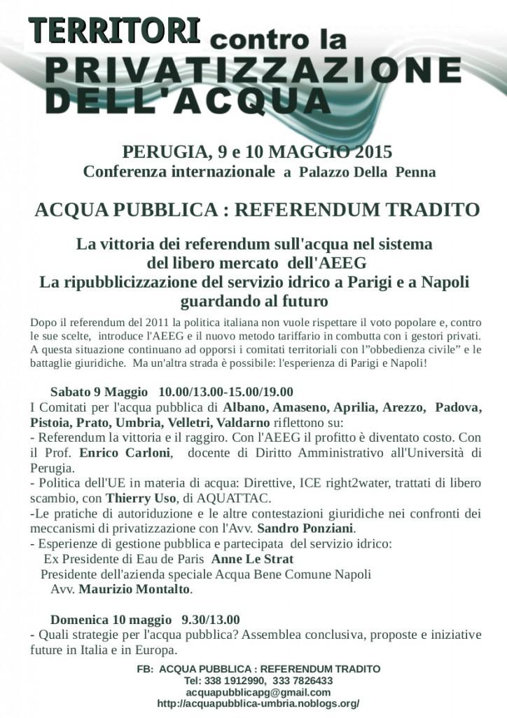 referendum tradito