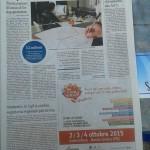 articolo giornale dell'umbria